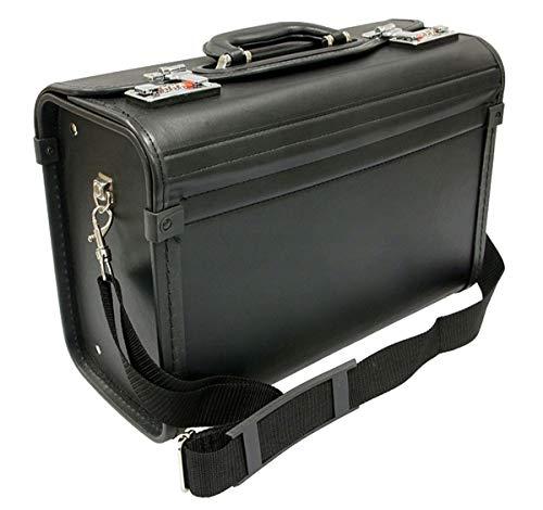 Aktenkoffer Pilotenkoffer Umhängegurt Koffer 40 cm Klein Davidts bei Bowatex