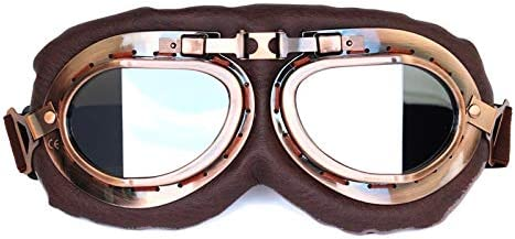 WUZHOUAME Goggles Motorcycle Riding Electric SEAL limited product Line Gog Retro In a popularity Juji