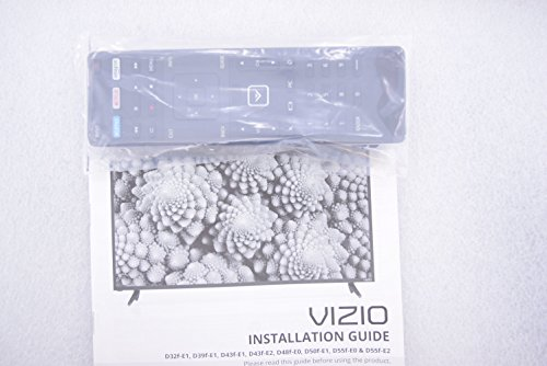 VIZIO D32F-E1 D39F-E1 D43F-E1 D43F-E2 D48F-E0 D50F-E1 D55F-E0 D55F-E2 REMOTE/MANUAL