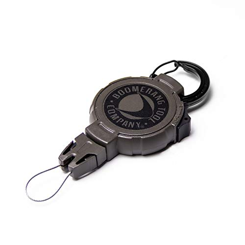 Boomerang Hunting GPS Retractable Gear Tether, Carabiner, 48