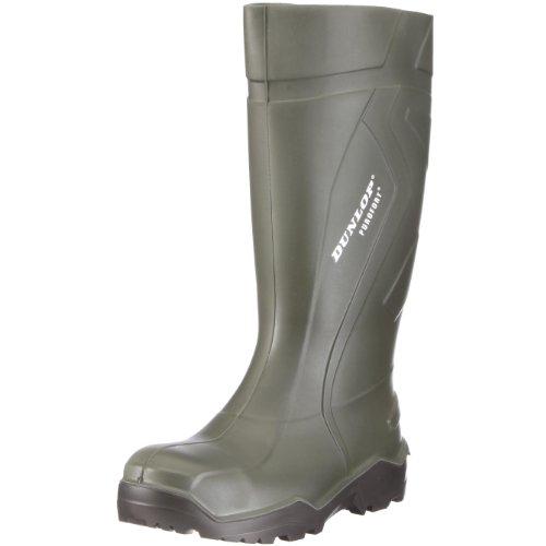 Dunlop S3 Gummistiefel PUROFORT DU762943 Herren Stiefel mit Stahlkappe, grün (groen) EU 45