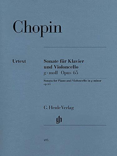 Sonate G-Moll Op 65. Violoncello, Klavier
