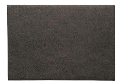 ASA Vegan Leather Tischset, Polyurethane, Mushroom, 46 x 33 cm
