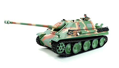"""Unbekannt Heng Long RC Panzer 1:16 \""""Jagdpanther AUSF. G M 1:16 / Rauch & Sound"""