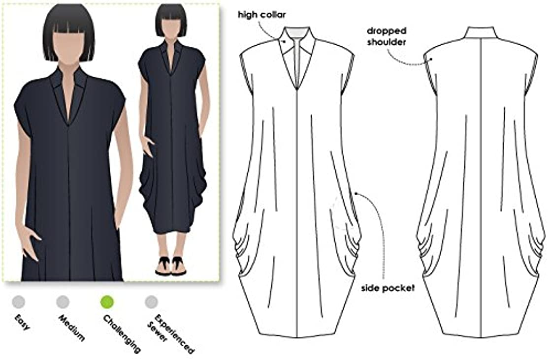 Style Arc Sewing Pattern - Toni Designer Dress (Sizes 04-16) - Click for Other Sizes Available