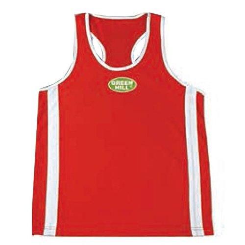GREEN HILL Adulto boxshirt Elite, Unisex, Boxshirt Elite, Rosso, XS