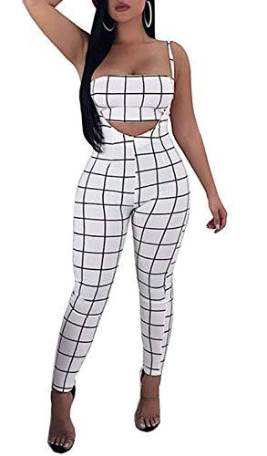 Yasminey Mujer Set Crop Top Pantalones Chic Y Ropa Verano Vintage Eleg