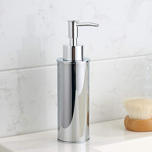 BGL Dispenser di sapone liquido, dispenser di sapone liquido, in acciaio inox 304, per cucina e lavandino