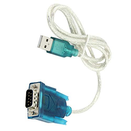 Yihaifu USB al Puerto Serie RS232 DB9 9 Pin Cable de 9 Pines Puerto Serie COM convertidor del Adaptador del Adaptador Hembra