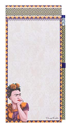 Grupo Erik - CFK001 Bloc de notas magnético Frida Kahlo