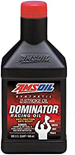 AMSOIL FULL SYNTHETIC Dominator 2-Cycle Oil 1 Quart