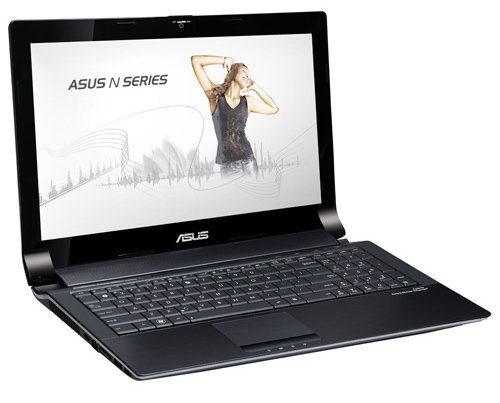 Asus N53SV SX929V 39,6 cm (15,6 Zoll) Laptop (Intel Core i5 2430M, 2,4GHz, 8GB RAM, 750GB HDD, NVIDIA GT540M 2GB, DVD, Win 7 HP)