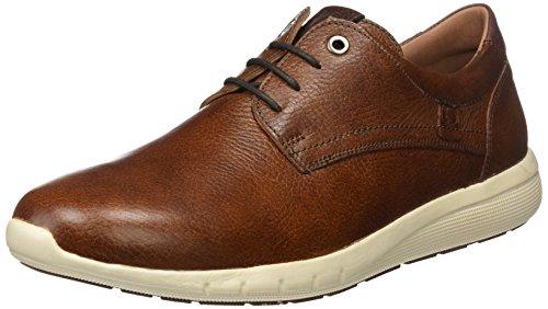 Coronel Tapiocca C37-77, Zapatos de Cordones Brogue Hombre, Marrón (Cuero), 45 EU