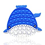 Juguete Fidget Bubble Sensorial, Bubble Sensory Toy,Alivio del Estrés para Necesidades Especiales del Autismo   Juguetes Para el Alivio de la Ansiedad, Apto Para Adultos y Niños (tiburón)