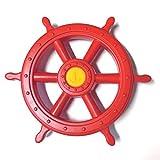 GK Piraten Steuerrad Schiffslenker für Spielturm, rot