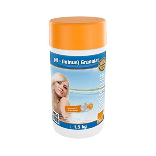 Steinbach Poolpflege pH minus Granulat, 1,5kg, pH-Regulierung, 0753001TD08