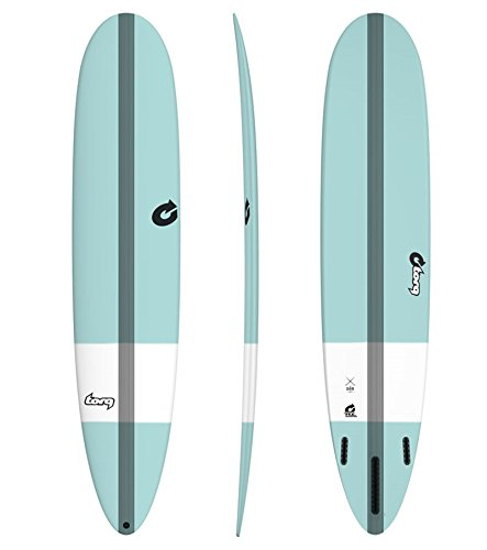 Surfboard TORQ Epoxy TEC The Don 9.6 tint green Malibu Longboard
