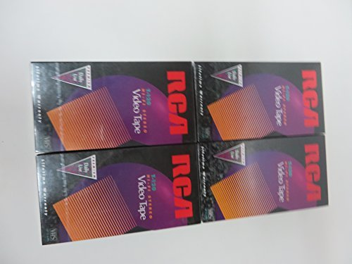 Why Choose RCA T-120 HI-FI Stereo VHS Tapes  (4-Pack)  Premium Daily Use