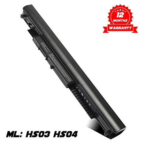 HS03 HS04 Laptop Battery Replacement for HP 807611-421 807956-001 807957-001 Battery HP 240 G4 245 G4 256 G4 250 G4 255 G4 256 G4 HSTNN-LB6U HSTNN-LB6V HP Pavilion Notebook 14 14g 15 15g Series