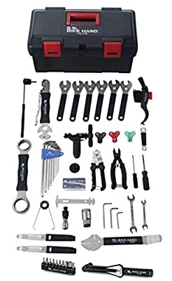 BIKEHAND 34 in 1 Complete Bike Bicycle Repair Tools Maintenance Tool Kit with Torque Wrench