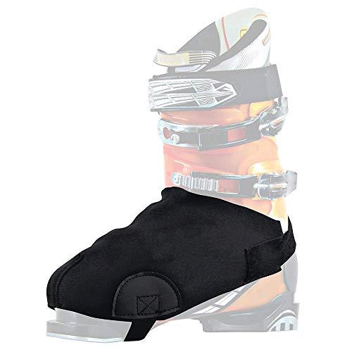 Lepeuxi 2pz Copri-Scarponi da Sci Mantieni Le Scarpe Antiscivolo Resistenti all'Usura per Gli Sport Invernali Coprimoto Impermeabile Copriscarpe Stivale Caldo