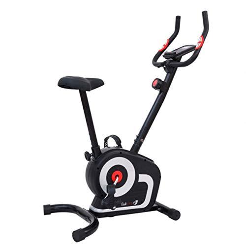 GetFit, Bicicleta estática RIDE241, freno magnético, niveles de fuerza (8), pantalla LCD, bicicleta Home Fitness