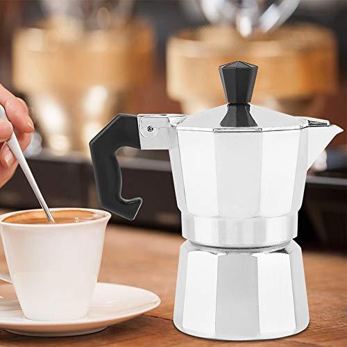 Moka Coffee Maker, Stovetop Espresso Maker Espresso Maker, Insulating Moka Pot, for Home Use