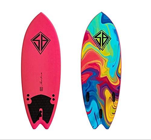 """Scott Burke 5'2"""" Fish Soft Surfboard"""