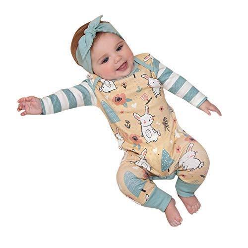 Pijama para bebé o niña, pelele sin mangas, mono de algodón para verano, ropa informal amarillo Small