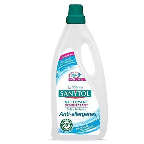 Sanytol desinfectante anti alérgenos 1L los suelos–(precio por unidad)–envío rápido y limpio–Sanytol Sols Desinfectant anti allergenes 1L