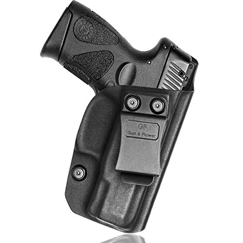 Taurus G2C Holsters Concealed Carry - Kydex IWB for G2C Taurus Holster Belt Clips PT111 G2 Accessories/PT140 - Inside Waistband - 9mm Gun Holsters Pistols Women/Man - Adj.Cant, No Wear, No Jitter