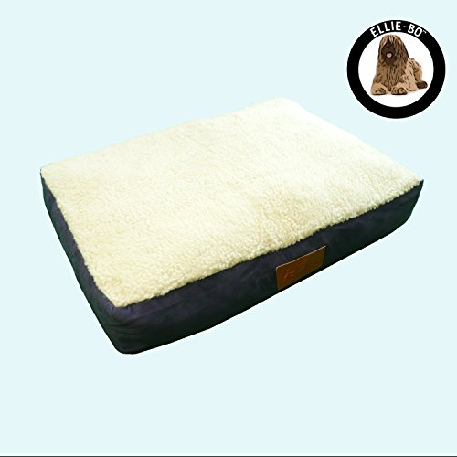 Pet Bed to fit Small, Medium, Large, XL or XLL Dog Cage by Ellie-Bo (86x57x10cms to fit 36 inch Large Ellie-Bo Cage, Blue)