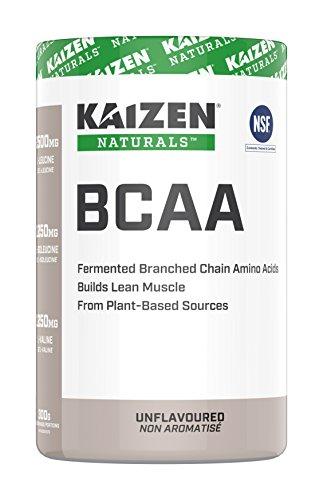 Kaizen Naturals BCAA (Branch Chain Amino Acids), Unflavoured, 300 g