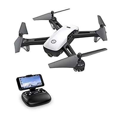 SANROCK U52 Drones for Kids and Adults with 720P HD Camera, WiFi Live Video FPV Drone, RC Quadcopter for Beginners, Gravity Sensor, Headless Mode, Altitude Hold, Route Made, 3D Flip, One Button Return