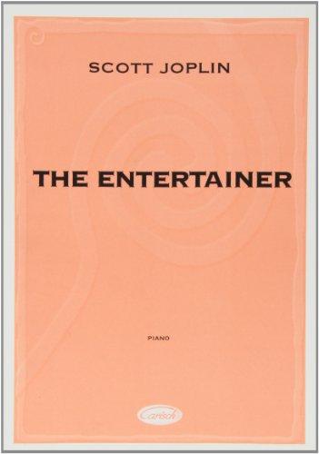 CARISCH JOPLIN SCOTT - THE ENTERTAINER - PIANO Jazz&Blues Noten Klavier
