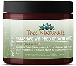 Tree Naturals Natasha's Whipped Hair Growth Butter- Fair Trade Shea 6oz