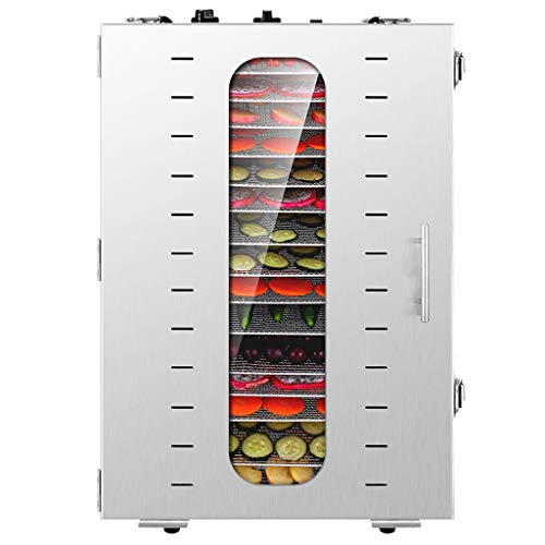 Buy Bargain Commercial Food Dehydrator MachineEasy Setup, Digital Adjustable Timer and Temperature C...