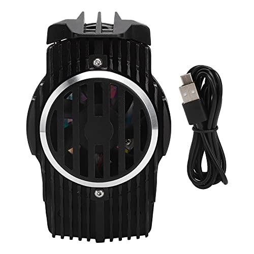 Enfriador semiconductor de teléfono, Ventilador de enfriamiento del radiador del teléfono Celular con Cable de alimentación USB Ventilador de enfriamiento silencioso para teléfonos móviles de 4.5 a 7