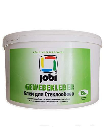 Jobi weefsellijm speciale lijm voor het verlijmen van glasweefsel 15 kg