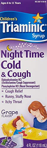 Triaminic Nighttime Cough/Cold 4 Oz