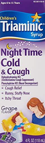 Triaminic Nighttime Cough/Cold 4 Oz