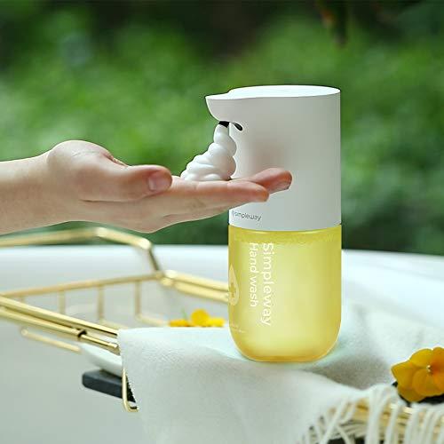 BPT Simpleway Distributeur de savon automatique 300 ml avec capteur automatique en mousse infrarouge No Touch pour cuisine et salle de bain