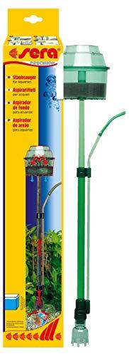 Sera 08550 Aspirapolvere – Rimuove accuratamente la Polvere e Lo Sporco dal Terreno Senza Dover Cambiare l'acqua.