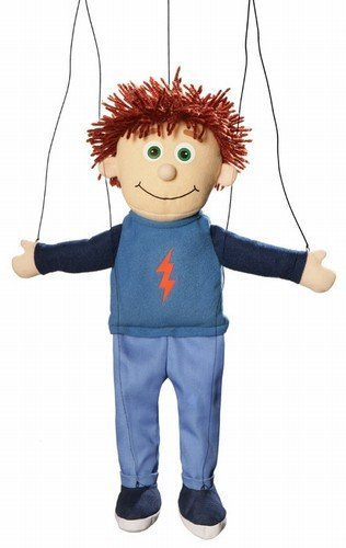 Tommy Peach Boy Marionette String Puppet