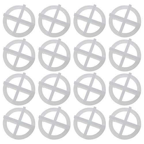 200 pezzi 2 mm riutilizzabili Cross Tile livellamento sistema distanziatore di plastica clip rimovibili piastrelle strumenti per la spaziatura di pavimenti o piastrelle di parete bianco