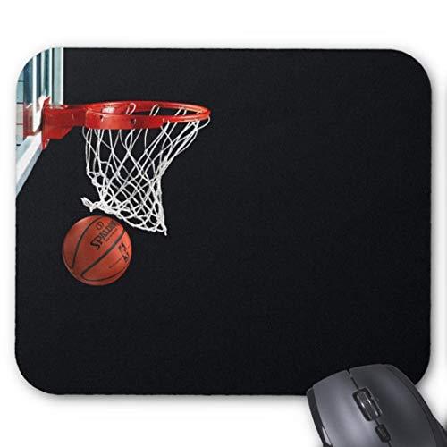 GBZ Mauspad für Computer, Laptop, Basketball, Swish NBA Mousepad