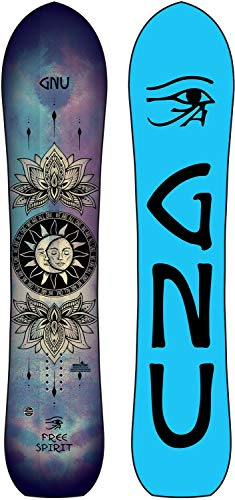 Gnu Free Spirit Snowboard Womens Sz 143cm