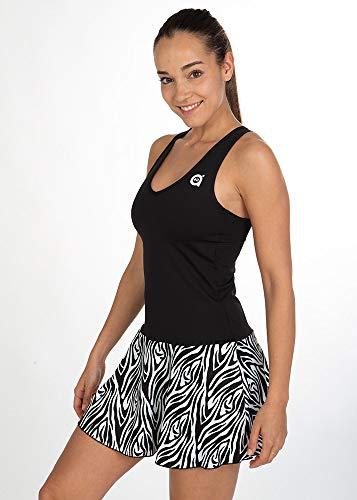 a40grados Sport & Style, Vestido Vilo Cebra, Mujer, Tenis y Padel (Paddle)