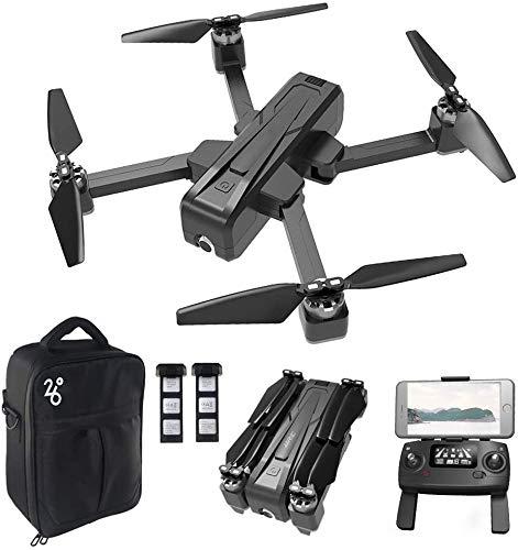 Drone GPS con videocamera per Adulti Video Live HD 1080P, Drone Pieghevole per Principianti, Follow Me, Altitude Hold e Trasmissione WiFi 5G
