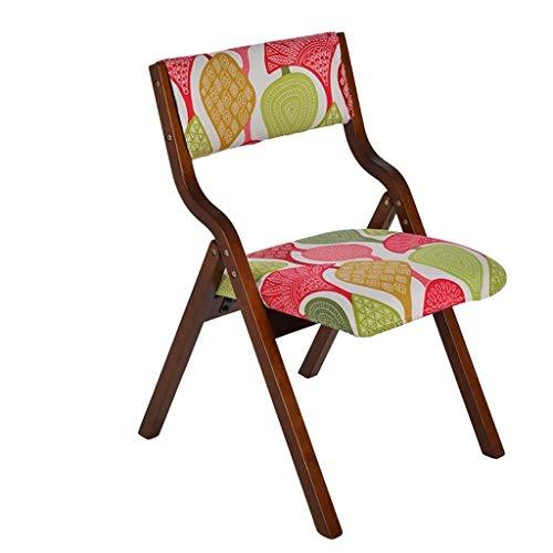 WWWWWWW-DENG barkruk, inklapbaar, van hout, met rugleuning voor stoel, meerkleurige bureau-make-up voor kinderen voor thuis en op winkel, barkruk